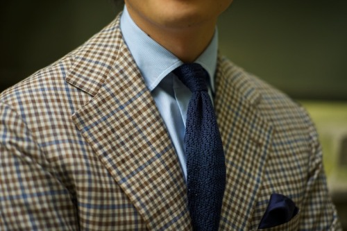 ethandesu:  Texture and Pattern Mark mixes stripes, checks, plains and weaves.