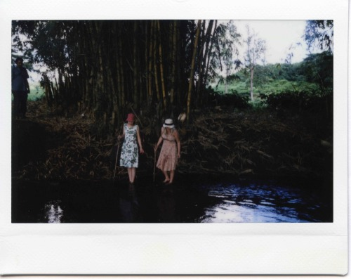 "Polaroid from the shooting of ""Tabu"" #19 directed by Miguel Gomes"