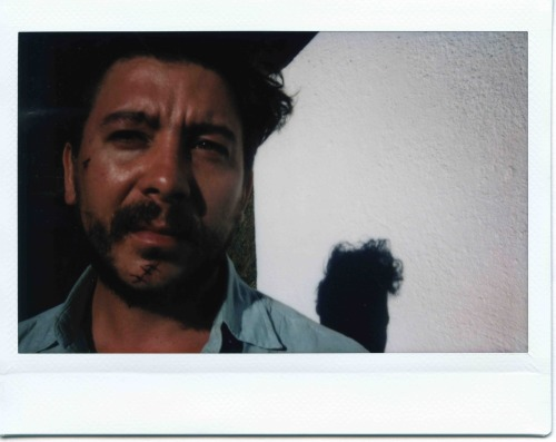 "Polaroid from the shooting of ""Tabu"" #20 directed by Miguel Gomes"
