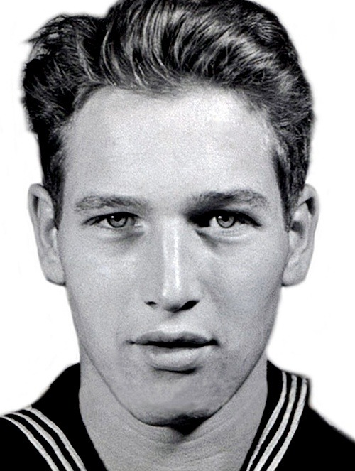 fuckyeahhistorycrushes:  Paul Newman, when he was an aviation radioman third class during WWII in Hawaii.