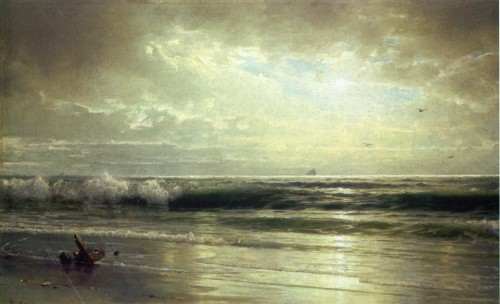 "windypoplarsroom:  William Trost Richards ""On the Coast of New Jersey"""