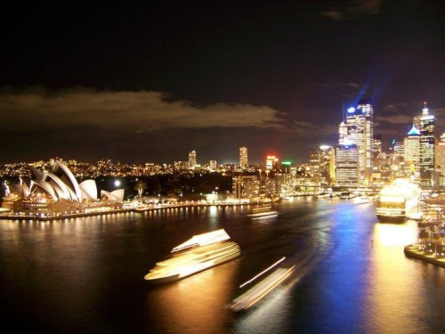 Christina Barbosa | Sydney by night, NSW