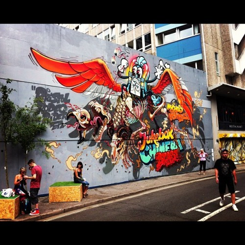 #Nychos one more time #seenoevil2012  (Taken with Instagram)
