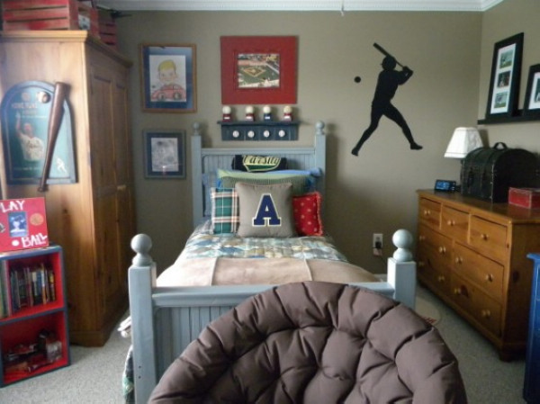 Inspired boys room