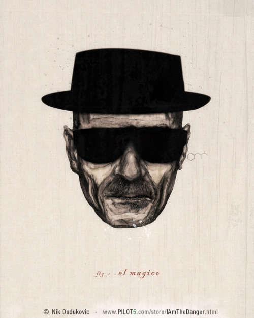 Whoa.  A piece of breaking bad fan art that doesn't look like every other single piece of breaking bad fan art GOOD JOB.