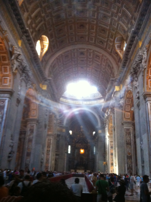 St. Peters basilica! Simply amazing!