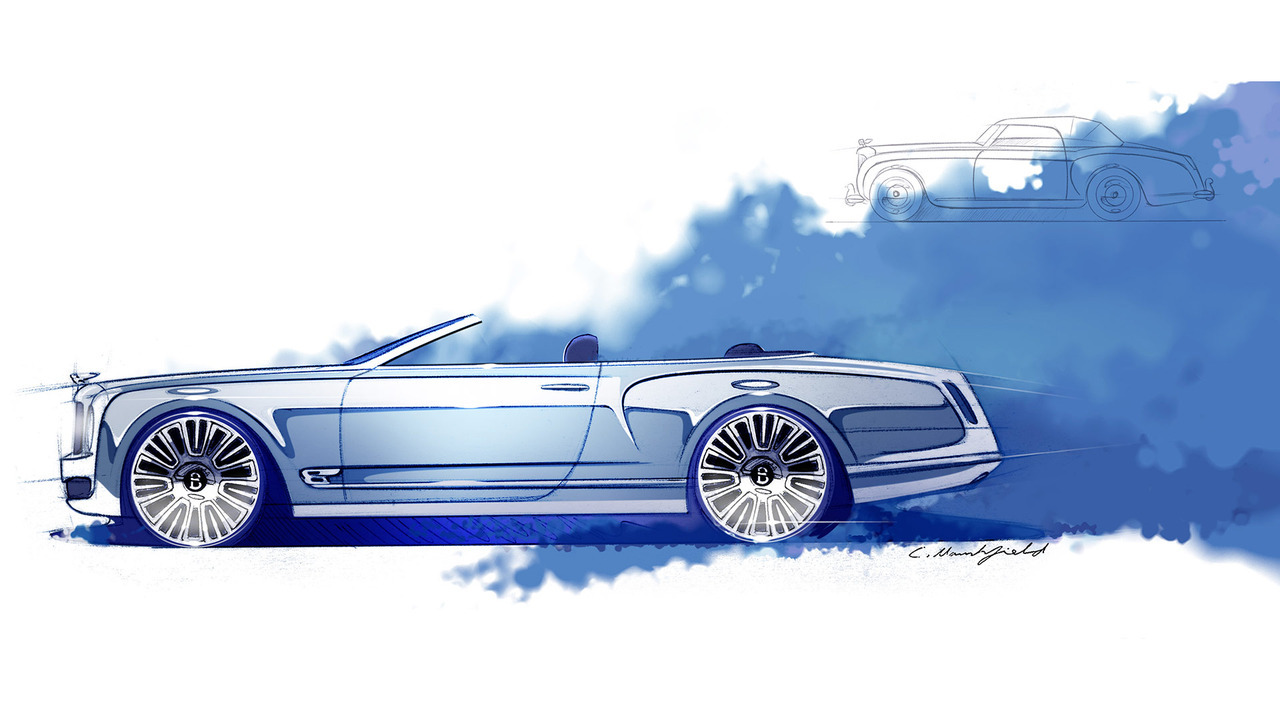 Bentley Mulsanne Concept Sketches