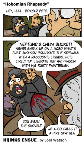 "New Comic: ""Hobomian Rhapsody"""