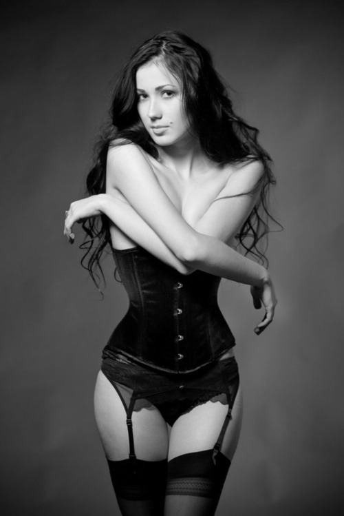 biggerharderfaster:  #corset #photo