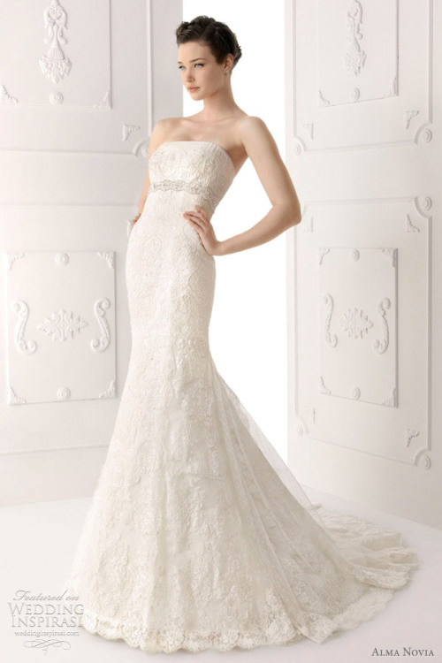 weddinginspirasi:  (via Alma Novia Wedding Dresses 2012 | Wedding Inspirasi)