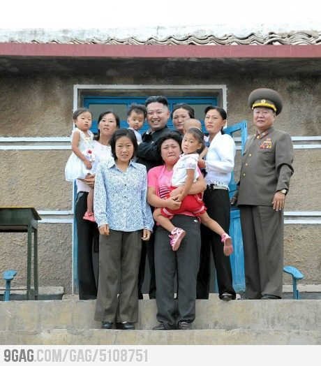 YUP, this North Korean People are really happy