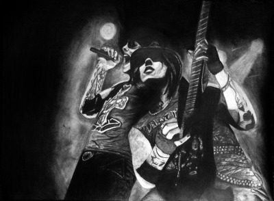 lifelesshannah:  An old drawing of Matt and Syn :D I was so proud of it