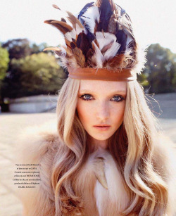 fuckyeahrunwayhair:  Maja Salamon by Marcin Tyszka for L'Officiel France November 2011