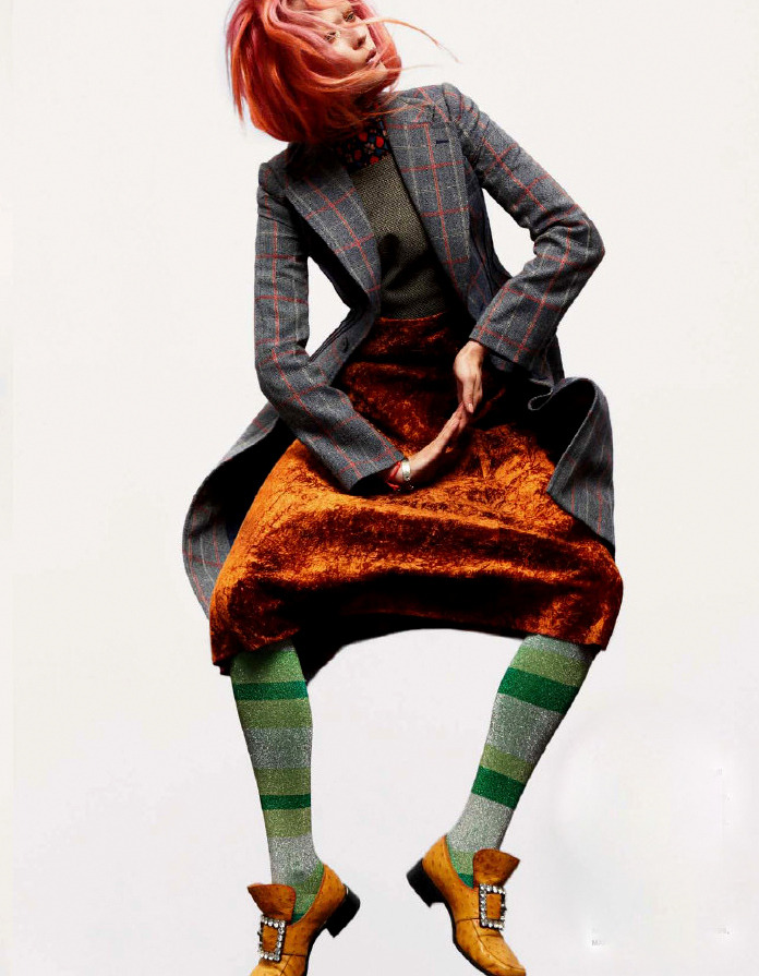 Monika Jagaciak by Greg Kadel for Numéro #136
