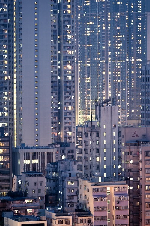 skyscraper:  Kowloon Tetris by spreephoto on flickr via surrogateself