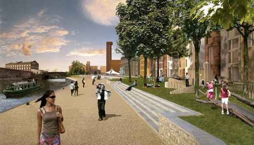 The London Legacy Development Corporation plans to build 8,000 new homes at the Olympic Park in Stratford. Here's how it might look in 20 years Photograph: London Legacy Development Corporation