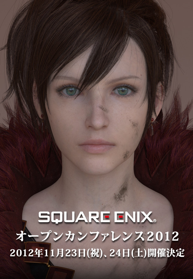 Square Enix already have a Final Fantasy XIII event coming up soon, but that's not all. The company has announced another event for November. The poster shows off the female character from the Square Enix next-gen tech demo for the Luminous Engine. The conference is for developers, probably convincing them to jump aboard with Square Enix for the next-gen of gaming.
