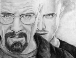 breakingbadamc:   Charcoal drawing More of my work here: ernest-treebeard.tumblr.com