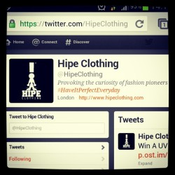 #hipeclothing #twitter #fashion #instagood #instagreat #streetwear #provoke #pioneer #tweet #picoftheday #black #white #urban #clothing #jumpers #tshirt #design #typography #follow #following #curious #london #premium #comingsoon (Taken with Instagram)