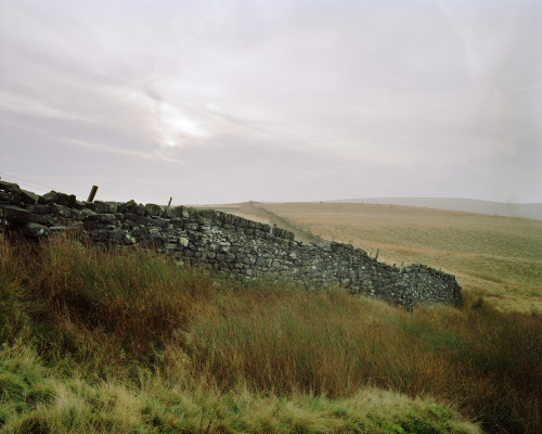 Windy moors near Haworth, from the 'Wuthering Hike' book.