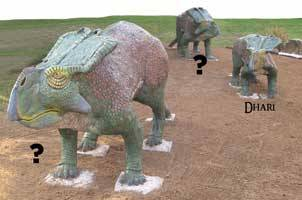 Baby dino Dhari's parent's need names & you can help! Visit our library and make your suggestions or visit our facebook or twitter accounts and suggest online! Links can be found at www.lpl.org  Top two most popular for Mom & Dad will be voted on and winners unveiled on Sept 23 at the ribbon cutting!