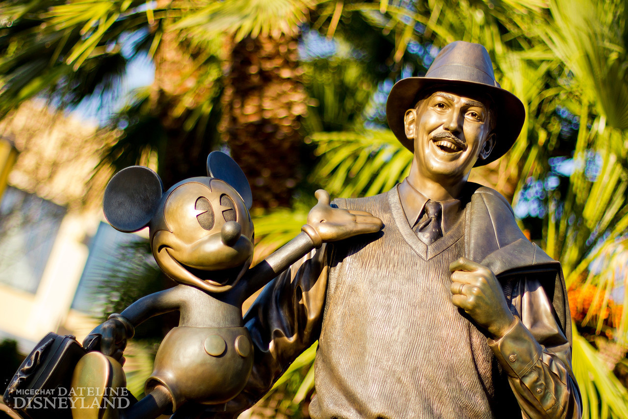 Partners, the statue of Walt and Mickey in Disney California Adventure.