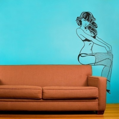 """Pin Up"" Wall Decal by beepart"