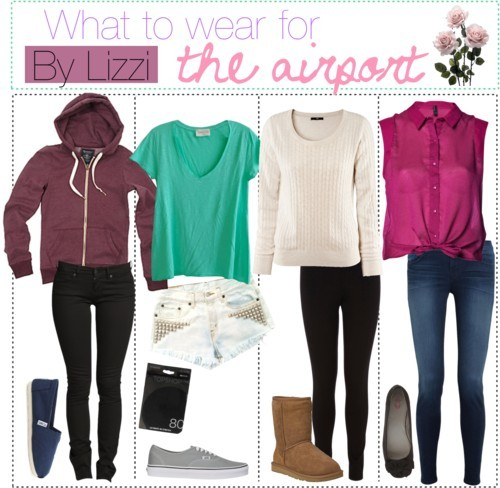 What to wear for the airport (: by the-polyvore-tipgirls featuring skinny jeans