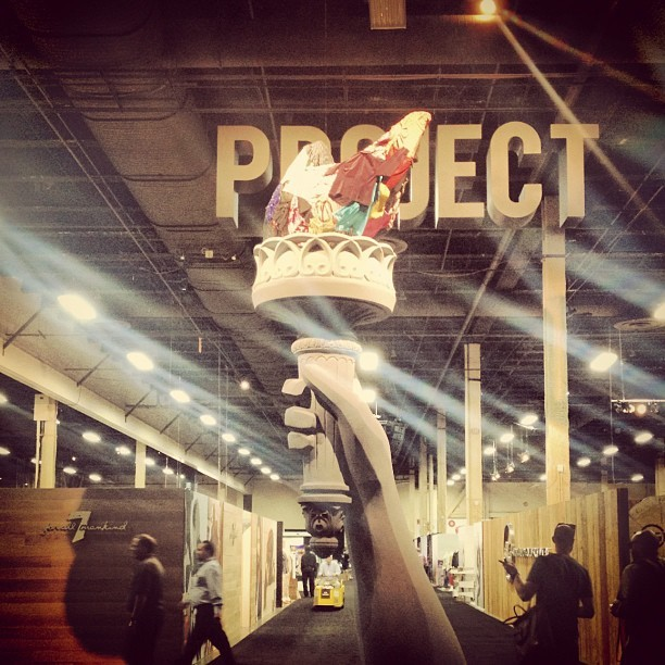 Day #1 @projectshow with the @nosubjectla ladies. (Taken with Instagram at Mandalay Bay Convention Center)