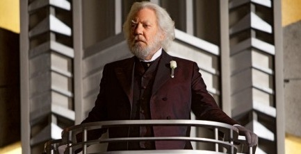 Donald Sutherland's e-mail to Gary Ross about President Snow released in full!  Absolutely awesome.