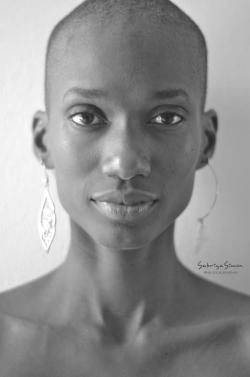 kwesiabbensetts:  (c)Sabriya Simon  Model- Mikaelia Benson  The work of Sabriya Simon