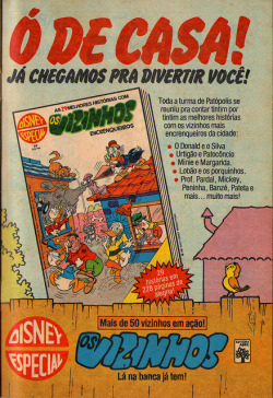 1981 - Disney Especial Os Vizinhos on Flickr.