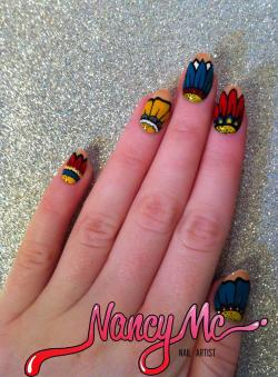 nancymcnails:  A/W '12 Flowers