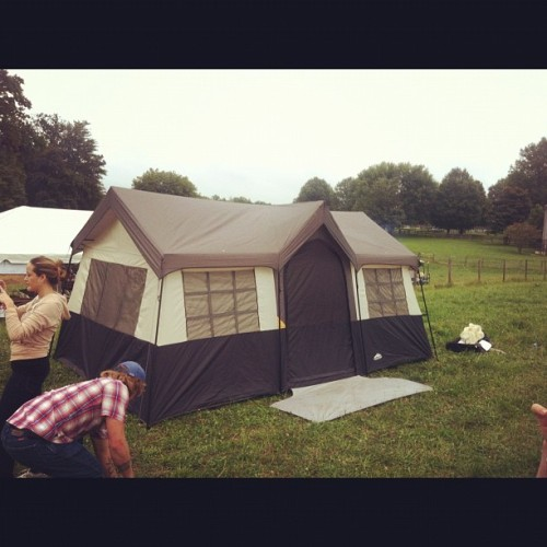 Camp #PAE at #Lambstock (Taken with Instagram at Lambstock at Border Springs Farm)