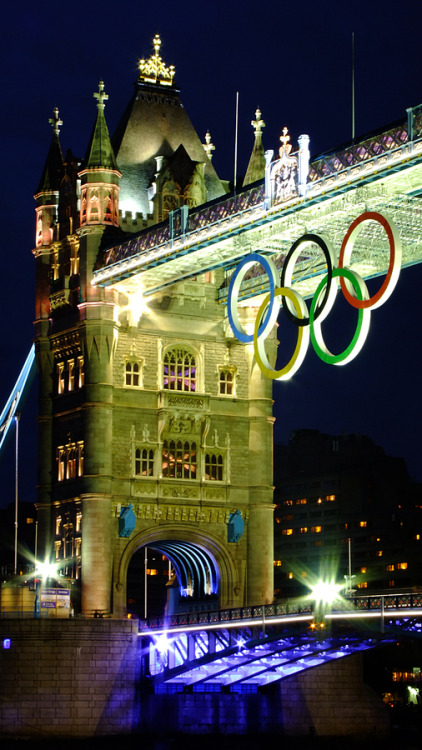"""Olympic Rings - London 2012"" by Brandon Douglas Good luck!"