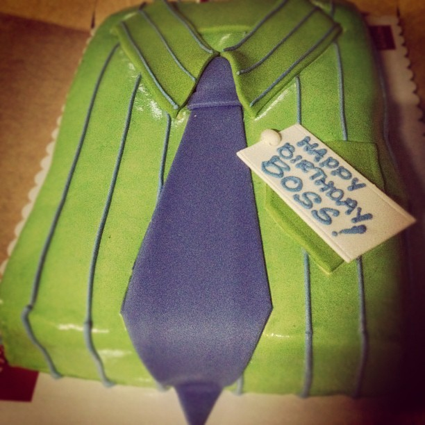 My birthday cake from VCS :-) (Taken with Instagram)