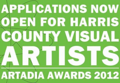 (via Calling all Visual Artists in Harris County Texas: It's Artadia Time)  Incredible opportunity for artists!