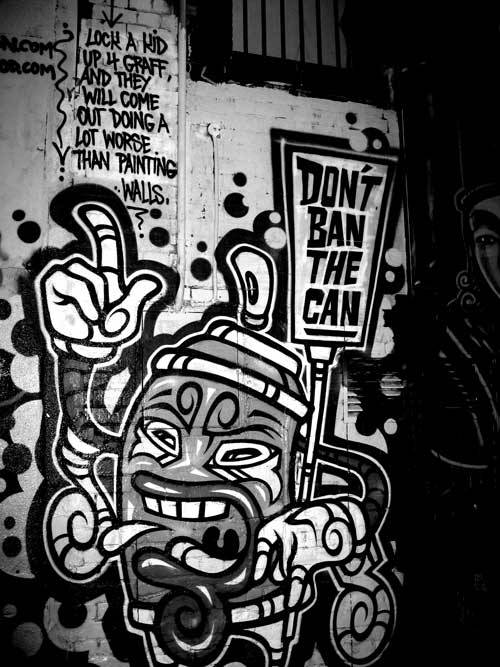 grafflicks:  DON'T BAN THE CAN GRAFFITI