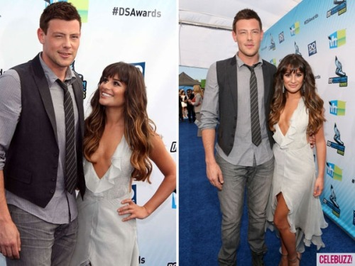 monchelequotes:  'Glee' Stars Lea Michele, Cory Monteith Make Their Official Couple Debut at the Do Something Awards (PHOTOS) Looks like there's no hiding it now. Lea Michele and her beau Cory Monteith made their first red carpet appearance as a couple Sunday night at the Do Something Awards. The real-life Glee couple made quite the debut, posing for photos and looking affectionately toward one another on the carpet. Michele, 25, wore  a striking Armani low-cut dress, while Monteith, 30, kept things simple in a button-down shirt, tie, vest and jeans. But did they take home the coveted Do Something award? Both stars were big winners Sunday night and walked away with their own individual Do Something trophies. Michele scored the award for TV Star: Female, while Monteith took home the TV Star: Male honors. And if there were any doubts about the Glee couple's relationship, the two were reportedly canoodling in their seats. ARTICLE Celebuzz on Monchele at Do Something Awards :) Aug 19/12
