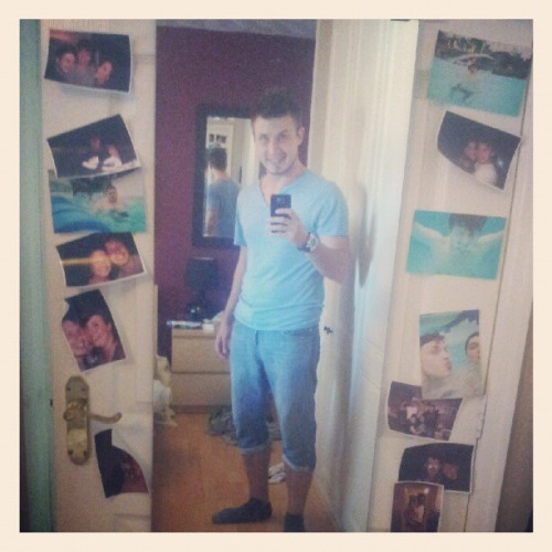 Totally by accident… Im all in blue! (Taken with Instagram)me