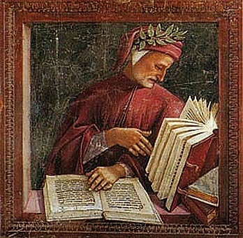 awesomepeoplereading:  Dante Alighieri multi-reads.