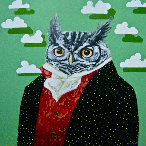Regency Great Horned Owl