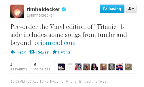 Amazing! Tim answered my prayers! I've already ordered mine! :)