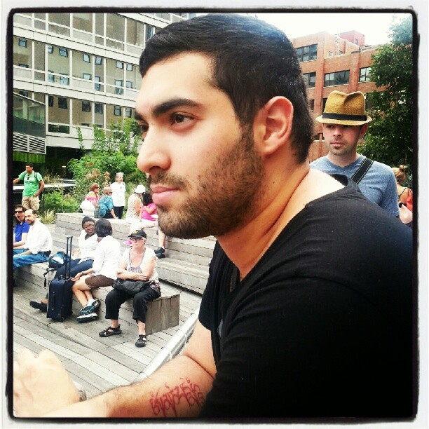 Me on the Highline #nyc #self #highline (Taken with Instagram at High Line)