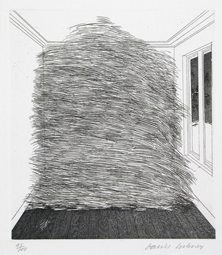 A Room Full of Straw, David Hockney.