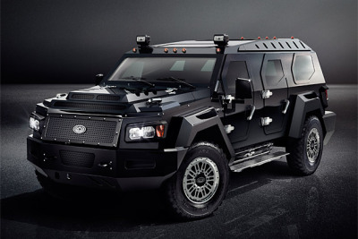 Conquest Vehicles - Evade Looking to replace the once popular Hummer as the ultimate larger than life luxury SUV, this right around half million dollar automobile is not messing around. Read all the details about it here.