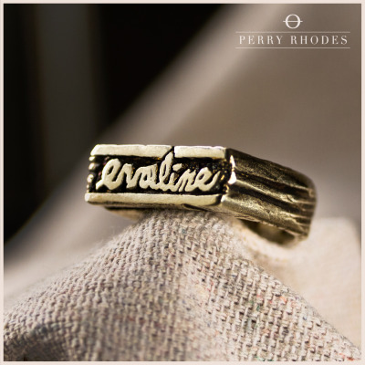 perryrhodes:  Special edition handcarved Evaline rings made by the band's vocalist, Perry. Only a handful were created so be sure to order yours today. Reblog to help support the band. We appreciate your support!   Go to: http://bit.ly/SGG3b5