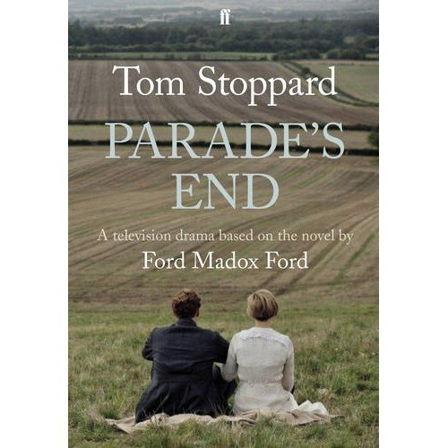 cumberbatchforum:  Here's the cover of  Sir Tom Stoppard's tie-in publication for Parade's End.  The book contains the scripts, deleted scenes and stills and photographs from the production. http://www.amazon.co.uk/Parades-End-based-Tom-Stoppard/dp/057129913X
