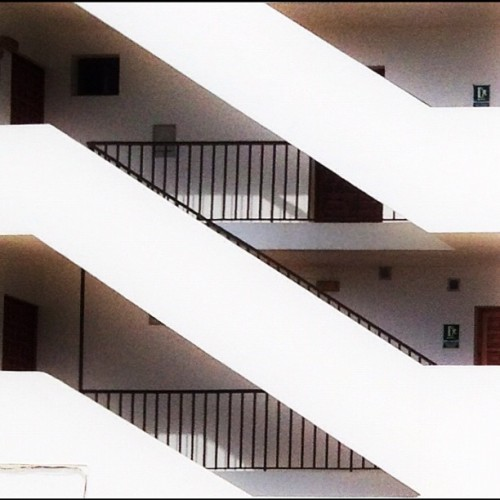 Levels.  (Taken with Instagram at La Savina)