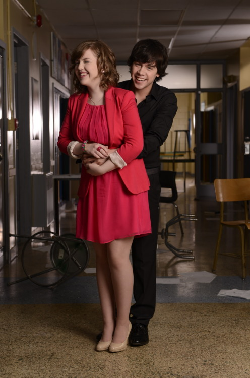 degrassi:  Too cute! #GalleryOuttake